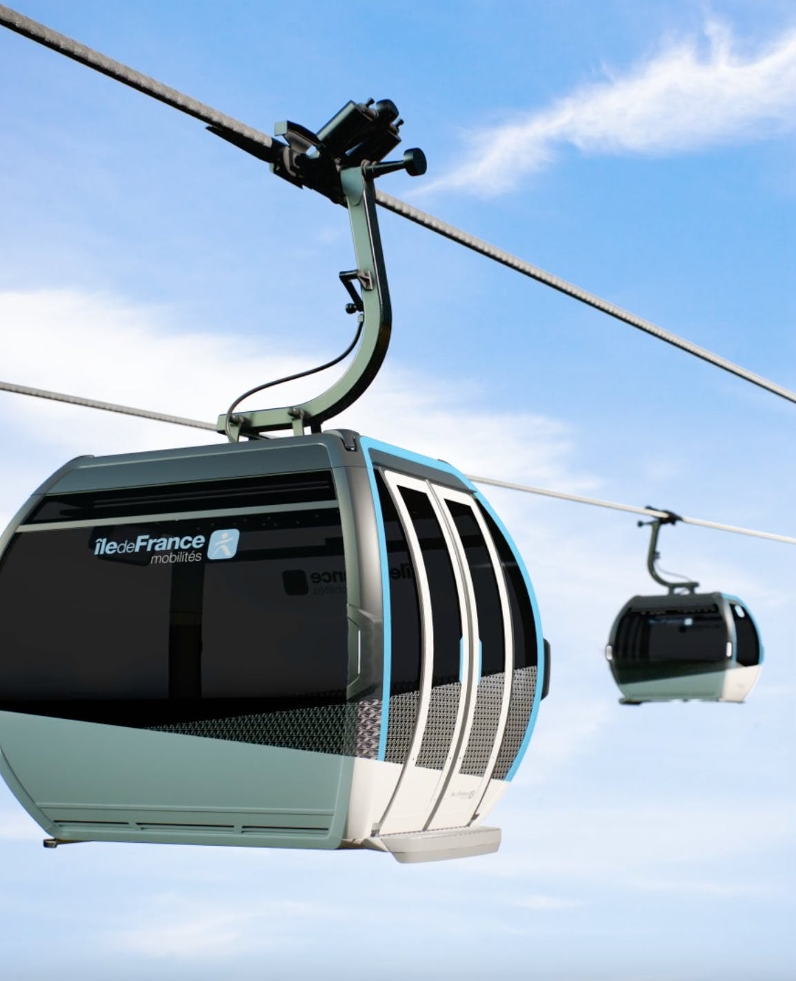 Prévisualisation des cabines du futur Câble A