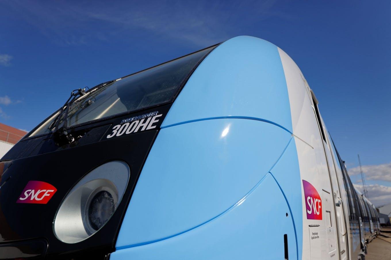 300ème rame du Francilien © Samuel Dhote / Alstom