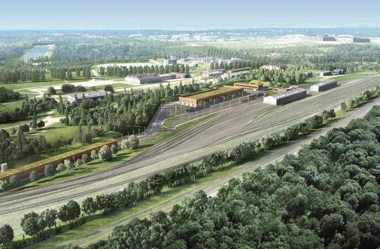 Perspective sur les travaux de la ligne du Tram 13 express
