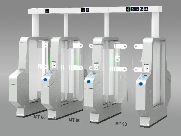 Image 3D de portiques de sécurité