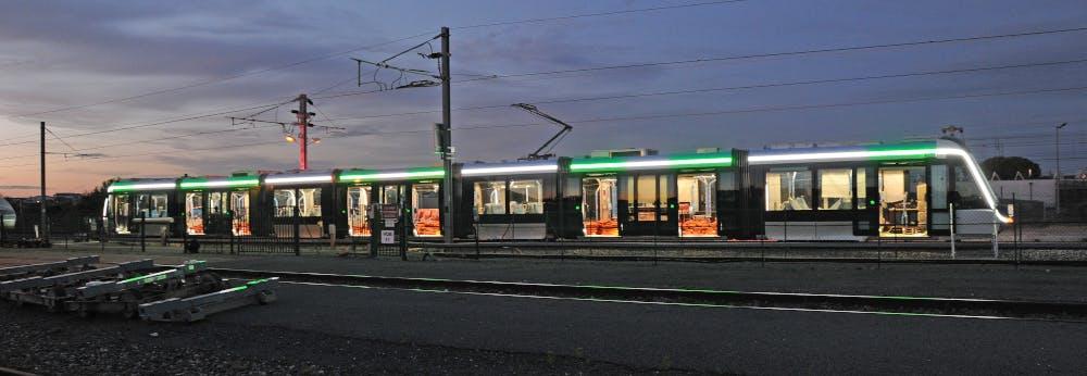 Rames de Tramway T9 à bord