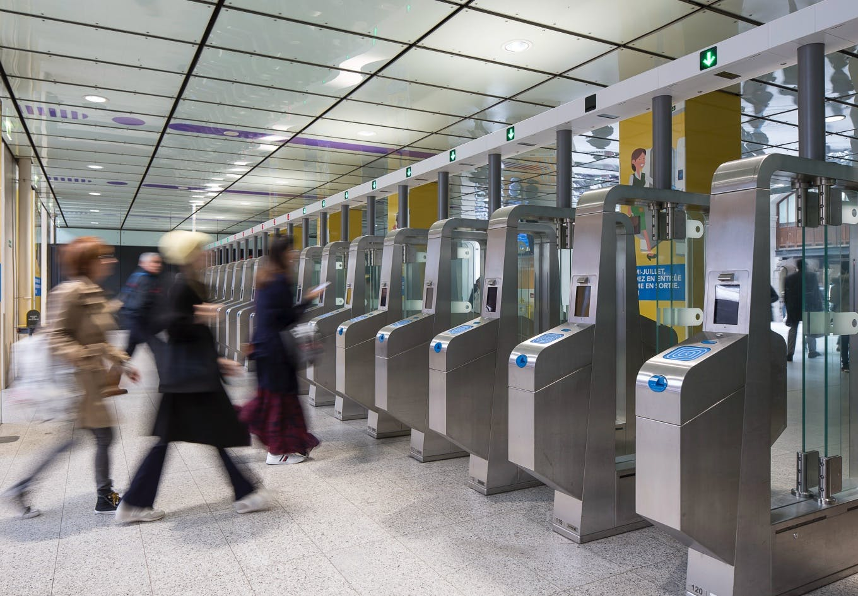 Accessibilité en gare Saint-Lazare © Jean-Marc GOURDON - Île-de-France Mobilités